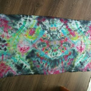 Other - Medium sized tie dye ice dyed tapestry